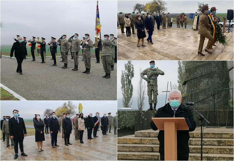 Ceremoniile de la Păuliş prilejuite de Ziua Armatei Române