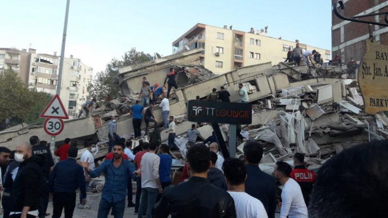Cutremur de 6,7 grade pe scara Richter în Marea Egee. Grecia şi Turcia afectate direct