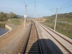 Încă 18 km de cale ferată de mare viteza din tronsonul Simeria–Arad–Curtici, daţi în folosinţă