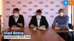 USR Arad vrea la guvernare locală, iar pentru asta e dispus să negocieze şi cu PSD-ul lui Fifor