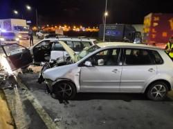 Un octogenar, protagonistul unui accident ce a blocat drumul spre Vladimirescu miercuri seara