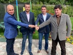 Iustin Cionca și Ilie Bolojan s-au întâlnit pentru drumul expres Arad-Oradea