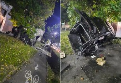 Accident spectaculos pe Calea Timişorii! Şoferul e de negăsit