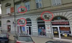 Fără aparate de aer condiționat pe fațadele clădirilor din zona protejată