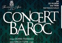 Concert BAROC la Filarmonica din Arad
