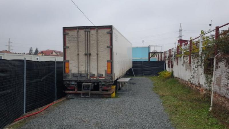 Morga din Timișoara neîncăpătoare, s-a adus un camion frigorific pentru pacienții decedați din cauza COVID