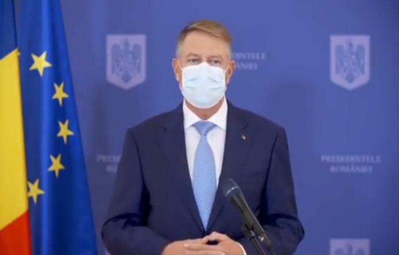 Klaus Iohannis: Nu există nici o intenție să promovez o carantină la nivel național după alegerile parlamentare. Lockdown-ul nu se întâmplă!
