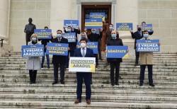 Aradul câștigă cu cea mai bună echipă trimisă de PNL în Parlament