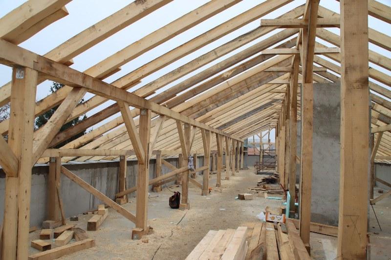 Se montează acoperișul pe Spitalul de Oncologie de pe Vicenţiu Babeş