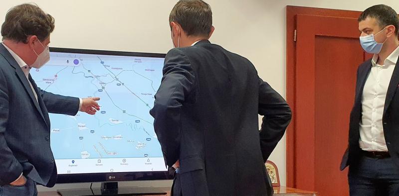 Extindere rețea de gaz în Pecica, Iratoșu și Dorobanți