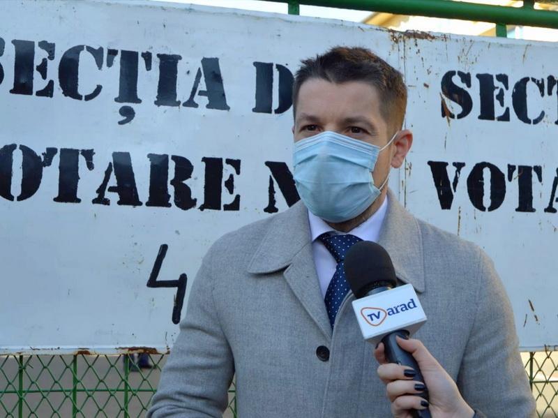 """Mihai Paşca: """"Am votat pentru o guvernare fără abuzuri"""""""
