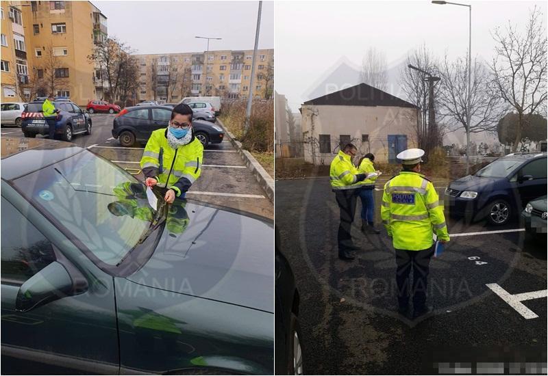 Atenţie şoferi! Poliţia Locală cu ochii pe cei care ocupă abuziv locurile de parcare ce nu le aparţin