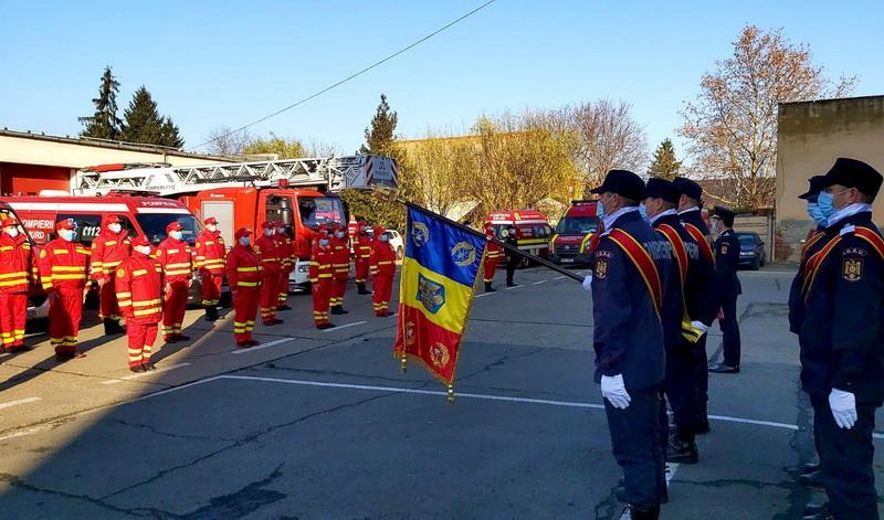 Echipajele SMURD Nădlac şi Vinga preluate de ISU Arad