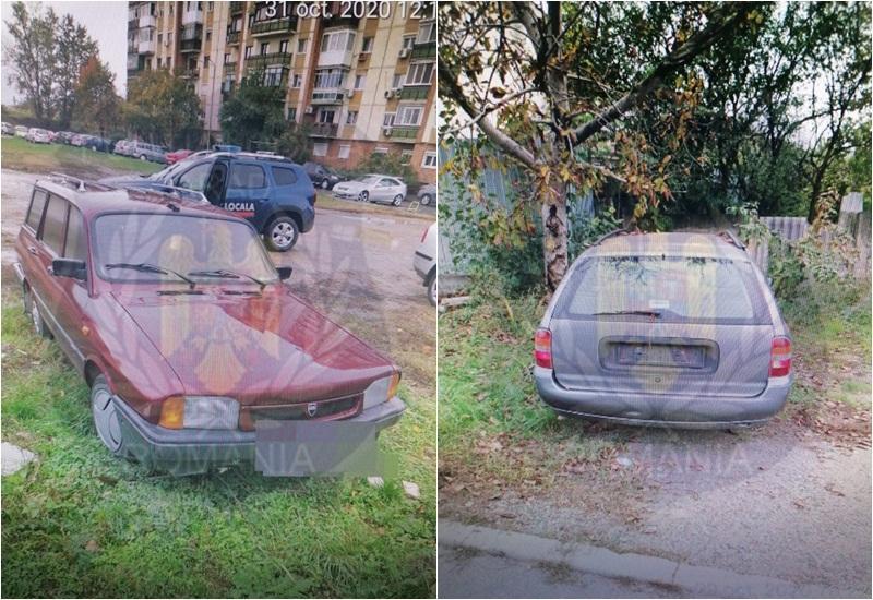 209 maşini abandonate pe raza municipiului Arad, în vizorul Poliţiei Locale