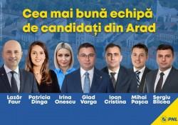 Ce alegem duminică, tineri sau experimentați? PNL vine cu cea mai bună echipă din Arad la parlamentare(P)