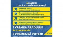Arădenii au suficiente motive pentru a merge la vot: pentru un drept constituțional și pentru dezvoltarea Aradului(P)