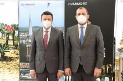Răzvan Cadar și Ionel Bulbuc, noii vicepreședinți ai C.J. Arad