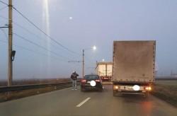 Accident pe Centură în zona CET. Se circulă cu dificultate