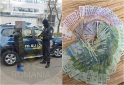 Banii obţinuţi din cerşetorie, conficaţi de Poliţia Locală