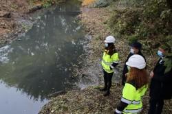 Încă un pas pentru decolmatarea şi igienizarea Canalului Mureşel