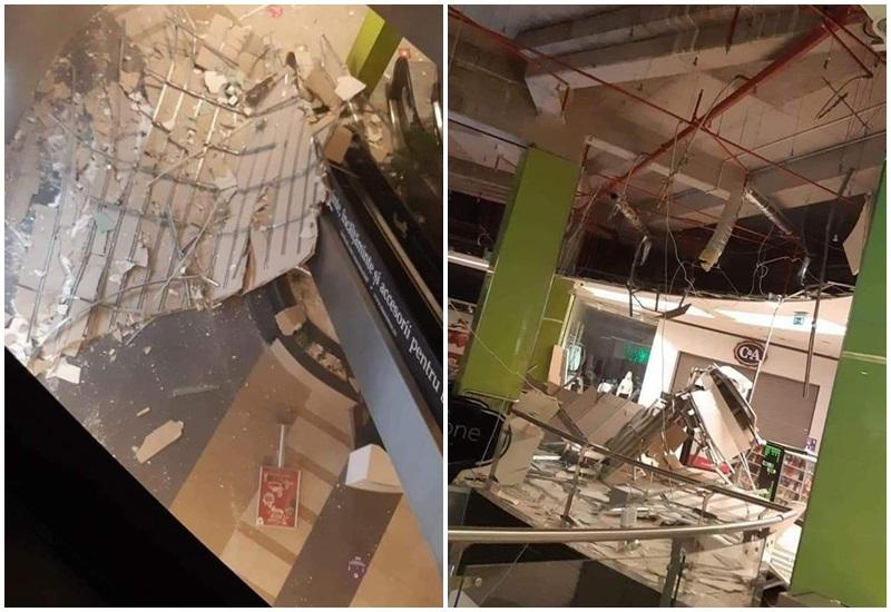Tavanul Mall-ului Atrim s-a prabușit noaptea trecută