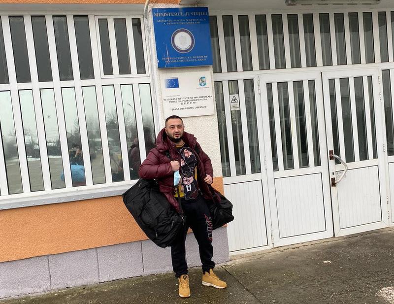 Condamnat la 8 ani şi 4 luni, căutat de 10 luni, Maliţa s-a prezentat singur la uşa penitenciarului