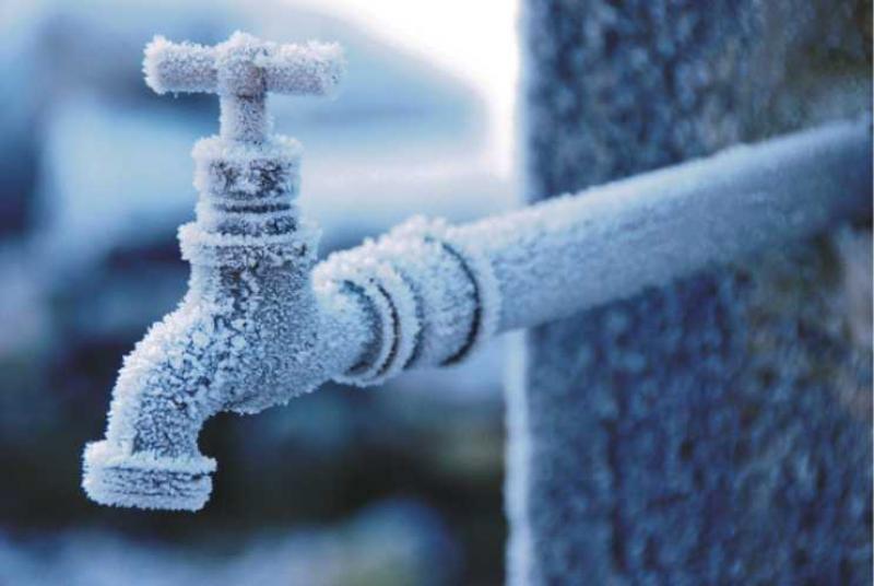 Măsuri de protecţie a instalaţiilor de apă împotriva îngheţului