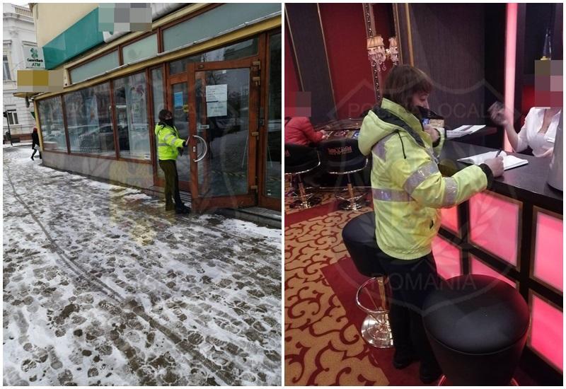 Amenzi între 1.001 lei la 1.500 lei pentru trotuarele necurățate de gheață și zăpadă