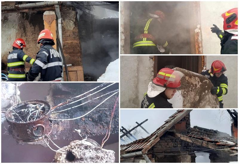"""Pompierii arădeni fac apel la cetațeni: """"Atentie la instalațiile electrice improvizate și la coșurile de fum!"""""""