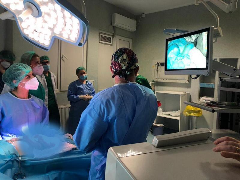 Sistem de vizualizare cu indocianină la Spitalul Clinic Județean de Urgență Arad