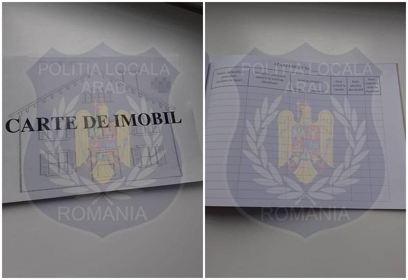 Lipsa Cărților de Imobil sancționată de Poliția Locală Arad