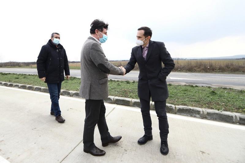 Întâlnire comună Arad-Timiş pentru controlul privind maşinile de mare tonaj