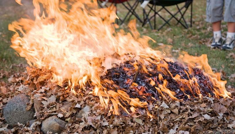 Amenzi usturătoare pentru arderea frunzelor și a altor resturi vegetale începând din luna februarie
