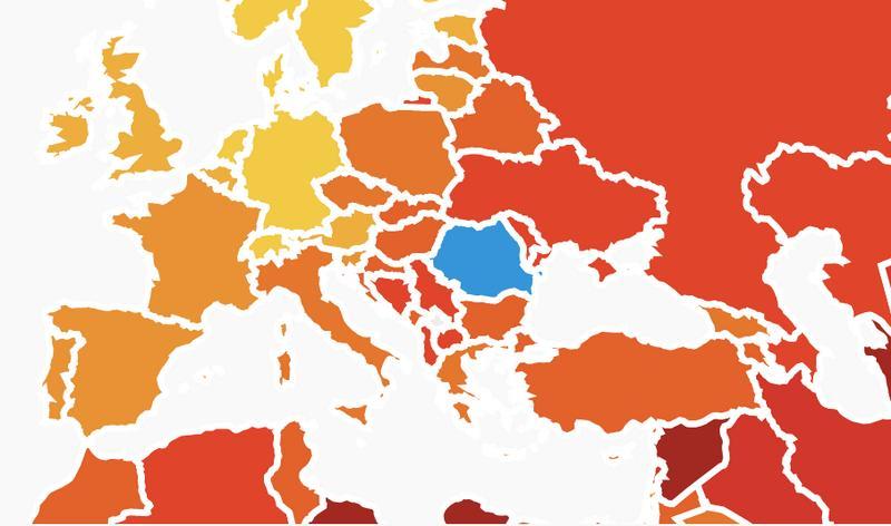 România, Bulgaria și Ungaria împart locul 1 în UE la nivelul de corupţie