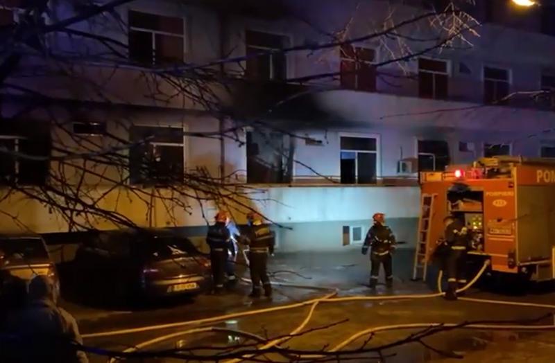 Incendiu de proporţii la Spitalul Matei Balș! Peste 120 de pacienţi evacuaţi şi 3 decese!