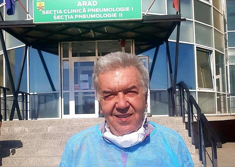 Medicul Gheorghe Nini revine la conducerea Spitalului Covid din Grădiște