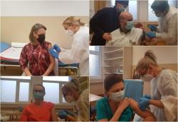 515 cadre medicale vaccinate în primele două zile în judeţul Arad