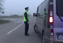 108 sancţiuni contravenţionale pentru nerespectarea interdicțiilor privind deplasarea/libera circulație aplicate în Arad în ultimele 24 de ore