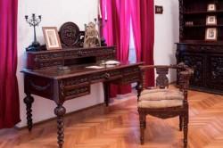 Exponatul lunii ianuarie: biroul de lucru al scriitorului Ioan Slavici
