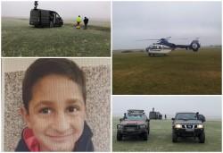 Forțe impresionante continuă căutările minorului de 7 ani din Chișineu-Criș dispărut sâmbătă