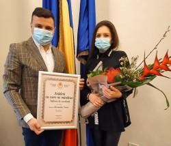 """""""Arădeni cu care ne mândrim"""": apreciere pentru acțiunile de suflet ale Alexandrei Timar"""