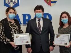 Recunoștință pentru unii dintre cei mai activi voluntari în perioada pandemiei