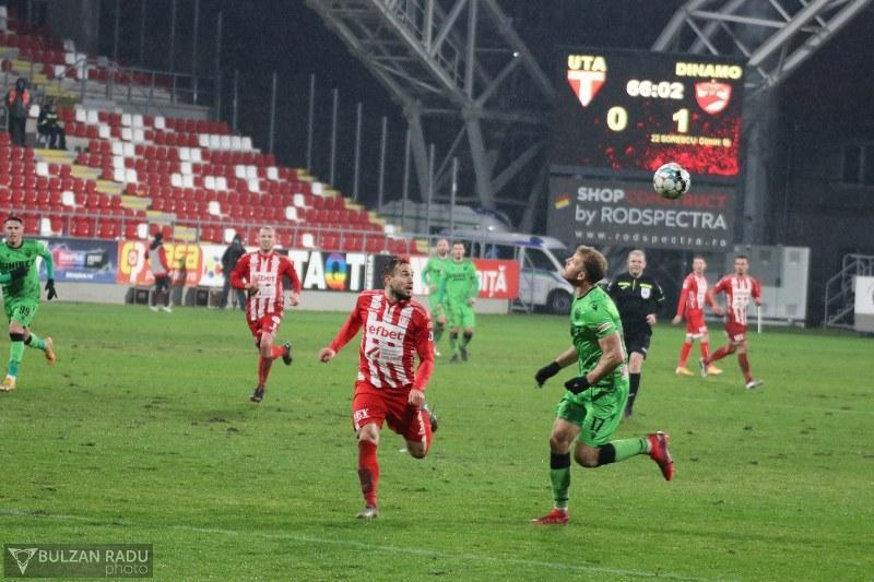 UTA – Dinamo 0-1, puteam mai mult