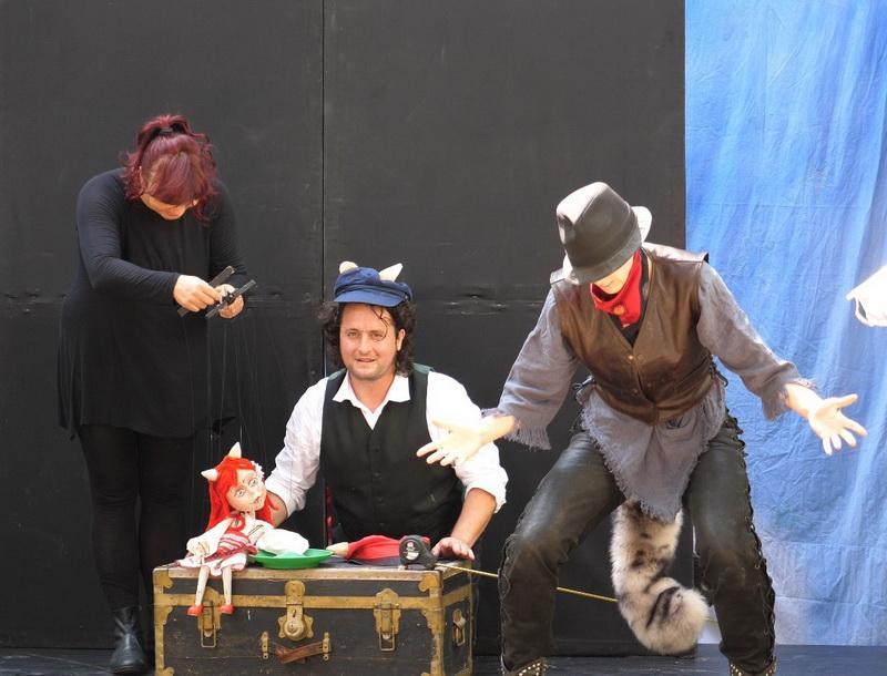 Poveste, aventură și veselie, duminică, la Marionete