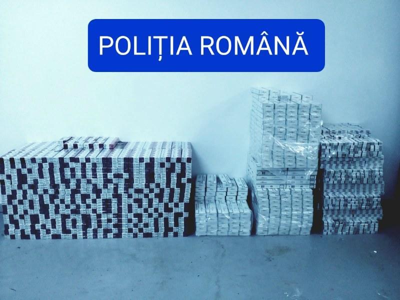 """19 adrese din Arad, Pecica şi Felnac """"călcate"""" de poliţişti pentru contrabandă de ţigări. 11 persoane reţinute!"""