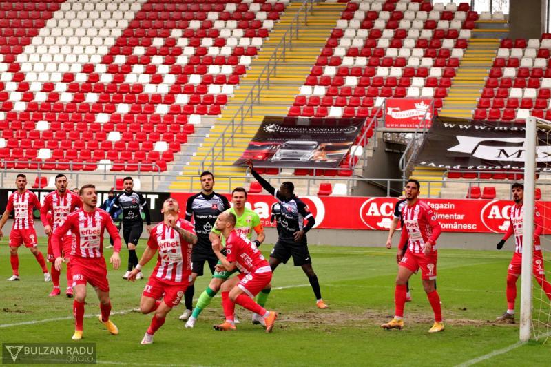 UTA Arad – FC Hermannstadt 1 – 1, încă o remiză acasă