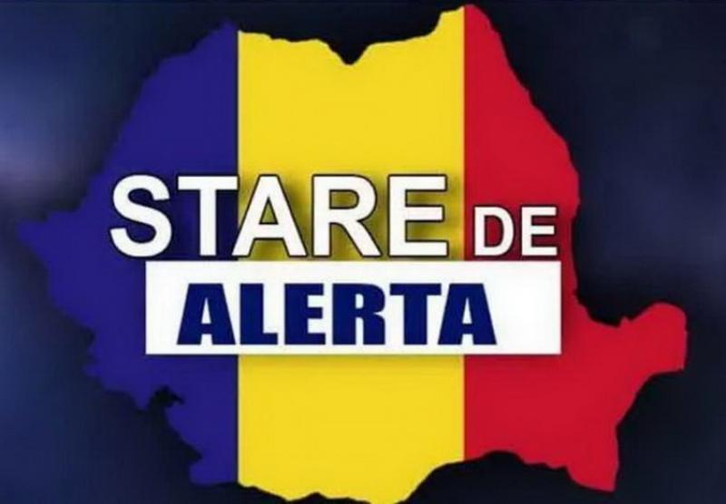 Starea de alertă pe teritoriul României a fost prelungită