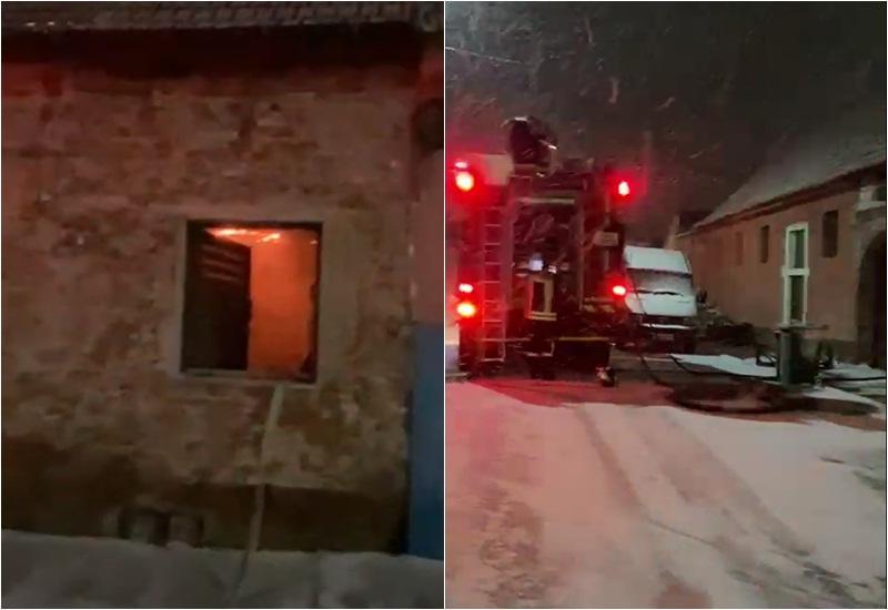 Incendiu la o casă pe Calea Timisorii în municipiul Arad