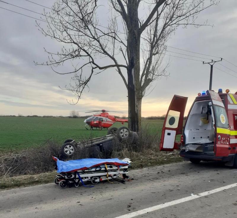 Bogdan Faur, fiul viceprimarului Aradului, în stare gravă în urma unui accident de circulație