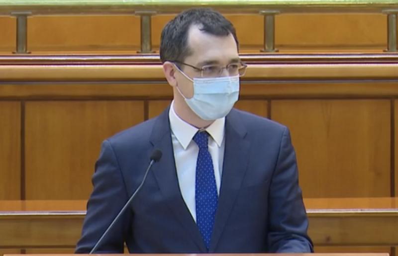 Moțiunea simplă împotriva ministrului sănătății,  Vlad Voiculescu n-a trecut!